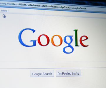 Google search engine changes an algorithm for mobile browsers